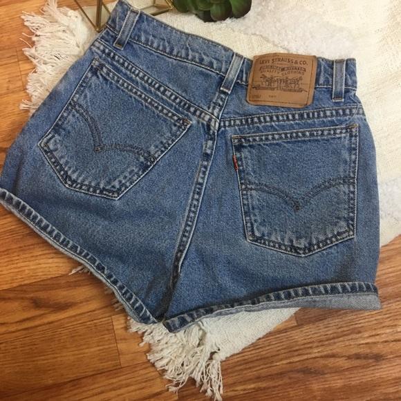 92e66191 Levi's Shorts   Vintage Levis Jean Orange Tab   Poshmark